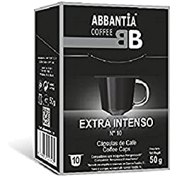 Abbantia Cápsulas de Café Extra Intenso Compatibles con Máquina Nespresso 120 Unidades