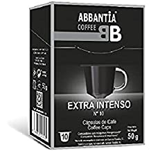 Abbantia Cápsulas de Café Extra Intenso Compatibles con Máquina Nespresso ...