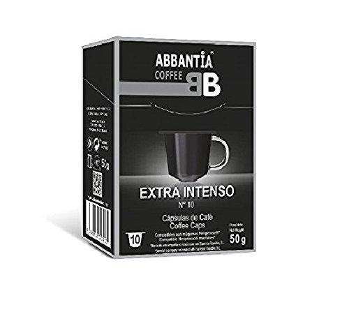 Abbantia capsule di caffè extra intenso compatibile con macchina nespresso 120 unità