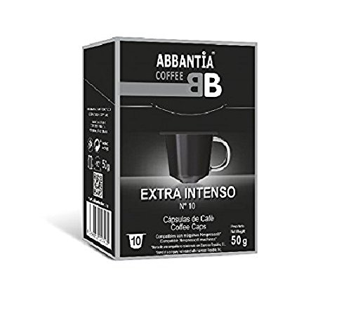 120 Cápsulas de Café Extra Intenso Abbantia compatibles con Nespresso.
