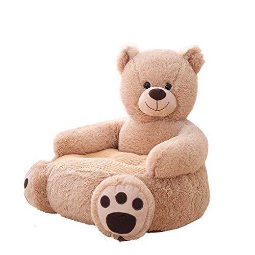 Pelande Kinder Plüsch Sofa Sitz Kinderstuhl Komfort Sessel Tier Sofa Sitz (Bär,01)