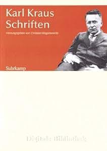 Digitale Bibliothek Nr. 156: Karl Kraus: Schriften