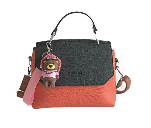 439540d6c34f Yslin Pelle Sling Bag Donne Leggero Borsa a Tracolla Donna Casual Zippo  Borsetta Piccoli Borsette Fashion