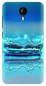 Kizil ™ Printed Designer Light Weight Back Case Cover for Micromax Canvas Nitro 4G E455