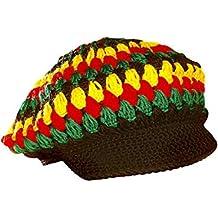 DiiliHiiri Gorro Rasta Rastafari Jamaica Gorra para Mujer o Hombre 76bf7795a12