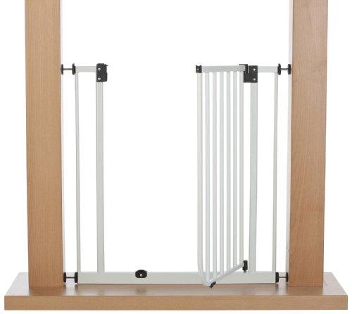 IMPAG ® Treppenschutzgitter EASY STEP passend für 62cm - 212cm | Höhe 77cm | ohne Bohren | Türschutzgitter6 Farben | einfache Montage | Tür-Gitter | Treppen-Gitter Baby Kleinkind Hund - 3