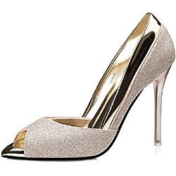 No. 55 Shoes , Damen pumps , - Gold - Größe: 35