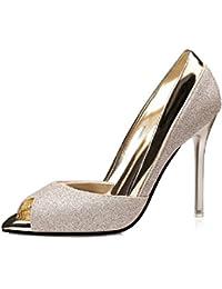 650e9c1cee Amazon.it: dorate - 8 - 12 cm / Scarpe da donna / Scarpe: Scarpe e borse
