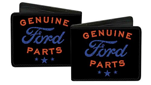 ford-automobile-company-genuine-parts-logo-bi-fold-wallet