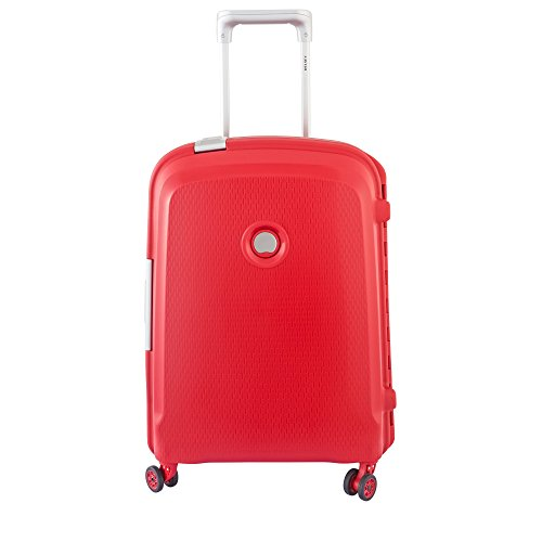 Delsey Paris Belfort Plus Maleta, Rojo (Rouge), 55 cm/44 liters