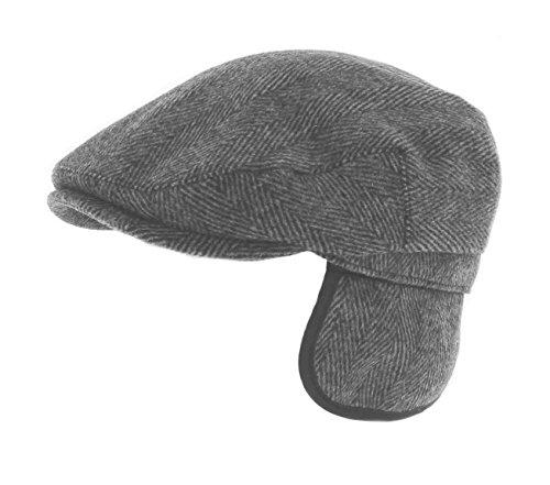 whiteley-fischer-herringbone-tweed-earflat-flat-cap-m08-small-57cm-charcoal