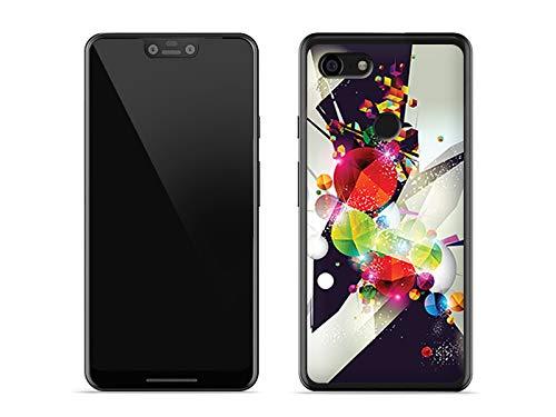etuo Google Pixel 3 XL - Hülle Fantastic Case - Abstrakte Geometrische Figuren - Handyhülle Schutzhülle Etui Case Cover Tasche für Handy