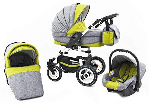 Tabbi ECO LN | 3 in 1 Kombi Kinderwagen