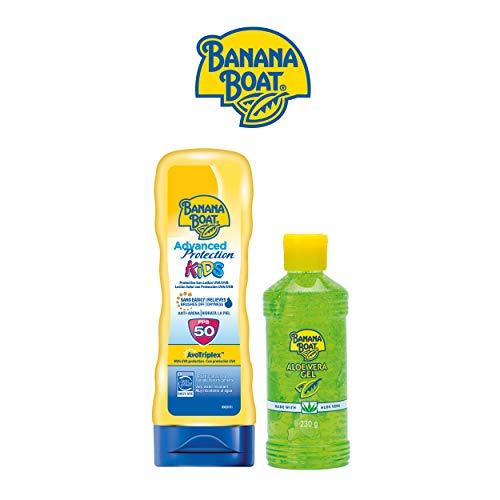 Banana Boat KIDS Pack Familiar - Kit Crema Solar Niños