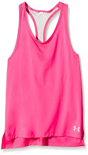 Under Armour Mädchen Fitness - T-shirts & Tanks, Fitness Luna Tank, Gr. YMD, Rosa (Rose)