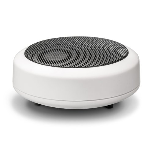 Preisvergleich Produktbild Wavemaster MOBI-2 Mini Lautsprecher mit Bluetooth-Funktion (1 Stück) für mobile Soundquellen wie Smartphone,  Handy,  Tablet,  MP3-Player,  Laptop usw. in weiß