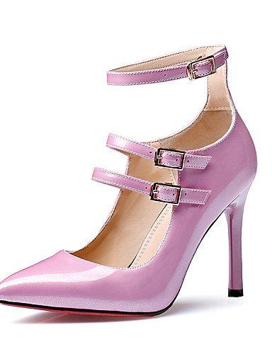 UWSZZ IL Sandali eleganti comfort Scarpe Donna-Sandali-Ufficio e lavoro / Formale / Casual / Serata e festa-Tacchi / Comoda / Innovativo / Alla schiava / Decolleté / A Pink