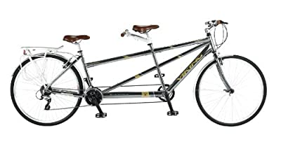 Viking Ascot Tandem, 21 Speed, 700c Wheel Bike, Grey