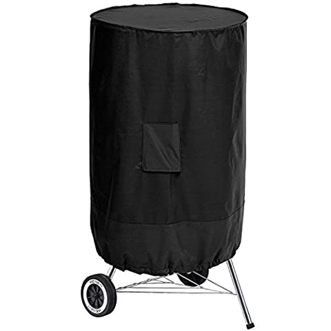 Gardman Heavy Duty Kettle Barbecue Grill Cover with Zipped Storage Bag (Model 38670)