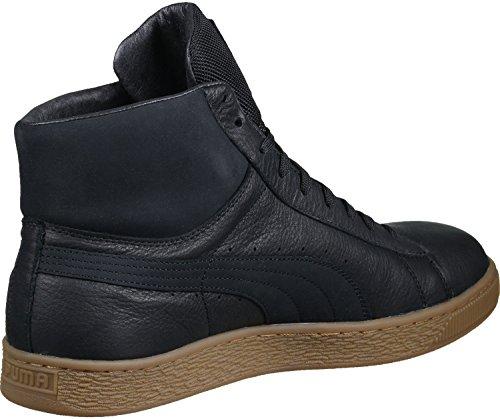 Puma Basket Mid GTX Schuhe Schwarz