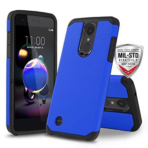 Schutzhülle für LG Optimus Zone 4 (Verizon Wireless), [DuoTEK Serie] Stoßfeste Hartschale [stoßfest] für LG Optimus Zone 4 (Verizon Wireless Prepaid-Telefon), blau - Prepaid-verizon-handys