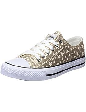 Conguitos Basquet Metalizado Estrellas, Zapatillas Para Niñas