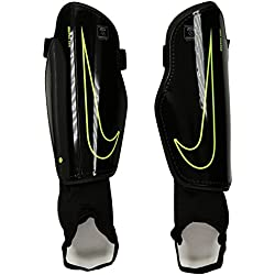 Nike Charge 2.0 Tobillera, Unisex adulto, Negro / Lima (Black / Black / Volt), XL