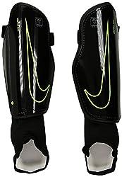 Nike CHARGEUnisex Knöchelbandage, Schwarz (Black/Volt/010), Gr. L
