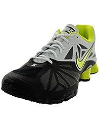 0df2589544b Nike Shox Turbo 14 Mens Running Shoes 631760-001 Black Venom Green-Light  Base