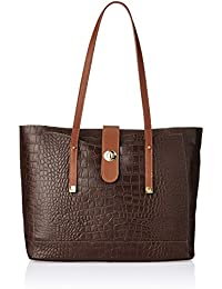 Hidesign Women's Tote Bag (Brown)