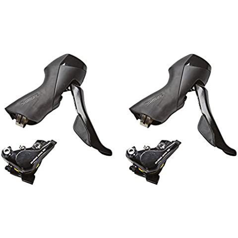 SHIMANO Kit freni a disco 105 st-r505 comandi cambio 2x11 velocità (Disco Idraulici) / Disc brake set 105 st-r505 shift levers 2x11 speed (Hydraulic disc)