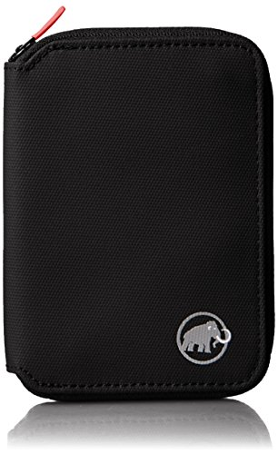 Mammut Geldbörse Zip Wallet, Black, 12 x 10 x 1 cm, 2520-00690-0001-1