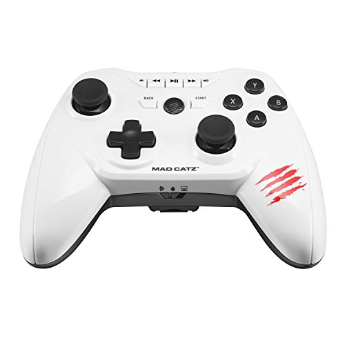 Price comparison product image Mad Catz C.T.R.L.R Mobile Gamepad - Gloss White (Android)