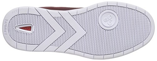 Hummel Hml Stadil Canvas Lo, Baskets Basses mixte adulte Rouge - Rot (Cabernet 3661)