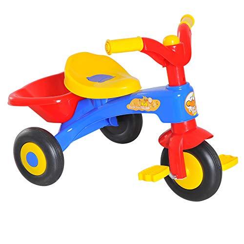 HOMCOM Triciclo para Niños 18-36 Meses Triciclo Infantil Evolutivo con Bocina 60x42x45cm Metal y PP