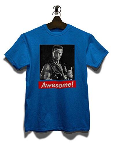 Awesome 09 T-Shirt Royal Blau