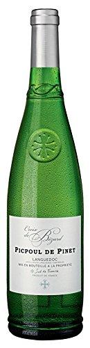 6x 0,75l - 2018er - Croix de Bézard - Picpoul de Pinet - Languedoc AC - Frankreich - Weißwein trocken (Languedoc Wein)