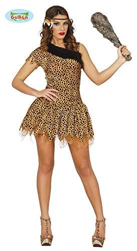 Steinzeit Leoparden Kostüm für Damen Gr. S-L, - Leopard Kostüm Damen