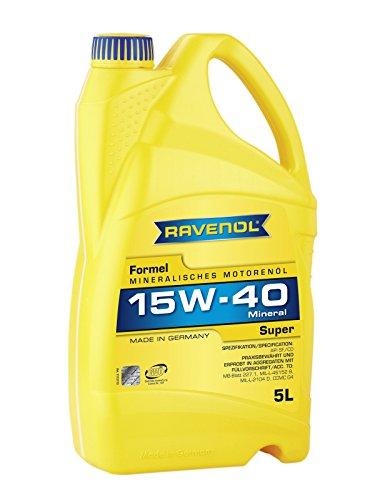 RAVENOL Formel Super SAE 15W-40 / 15W40 Mineralisches Motoröl (5 Liter)