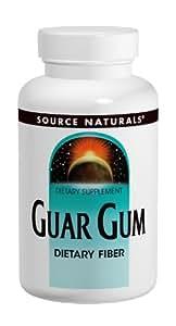 Source Naturals - Poudre de Gomme Guar - 16 Oz
