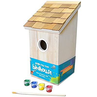 GARDEN BAZAAR HB-9075DYO Design Your Own Bird House - Neutral from GARDEN BAZAAR
