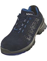 Uvex One Zapatos de seguridad (8531perforadas, S1SRC, UVEX one Halbschuh