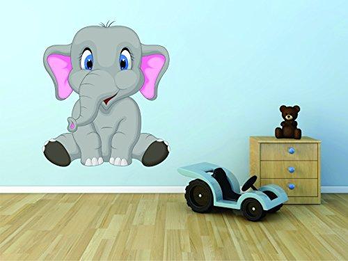 Vinilo adhesivo para pared venta: de Dumbo Disney circo elefante niños Boy niña habitación escuela aula guardería tamaño: 12pulgadas x 18pulgadas