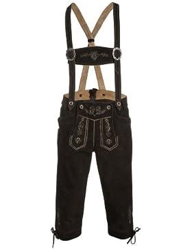 Distler Kniebund-Lederhose für Herren aus Veloursleder Herren Männer Lederhose Lederhosn