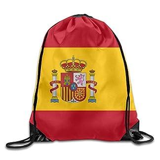 41BLi1QMlTL. SS324  - Daisylove Bandera de España Lindo Gimnasio Cordón Bolsas de Viaje Mochila Tote Escuela Mochila