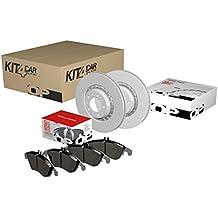 Open Parts KFB0045 Kit Frenante Anteriore Composto da Pastiglie e Dischi Freno