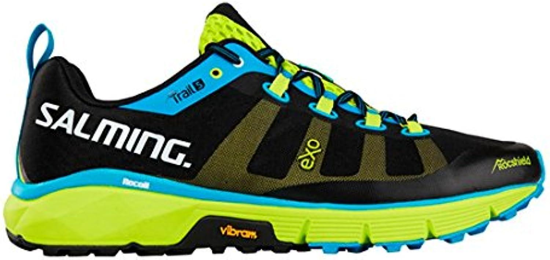 Salming Trail 5 Shoe Black Fluo Green 42.5