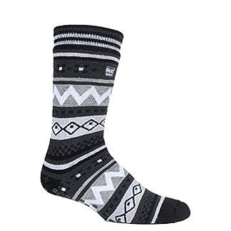 HEAT HOLDERS – Hombre invierno caliente gruesos termicos calcetines antideslizantes estar por casa