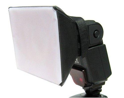 UNIVERSAL BLITZ DIFFUSOR OMI SOFTBOX / WEICHBEÄLTER faltbar, gross passend für CANON EOS, NIKON, MINOLTA, Contax, Olympus, Sunpak, Vivitar, Nissin, Promaster, Pheonix, Pentax, Casio, Cooke, Kodak, Leica, Minox, Panasonic, Rodenstock, Sigma, Sony, Zeiss, Zenit Serien Modelle und viele andere Casio Canon Eos