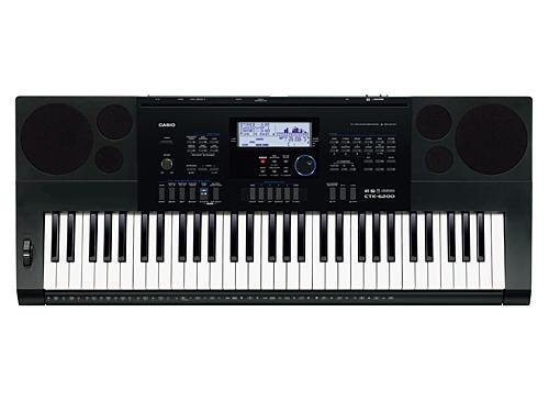 Casio CTK-6200 piano digital